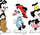Yakko, Wakko, and Dot