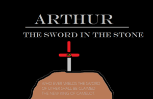 Arthur - The Sword in the Stone Poster 1