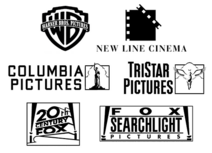 Warner Bros. Pictures, New Line Cinema, Columbia Pictures, TriStar Pictures, 20th Century Fox, and Fox Searchlight Pictures