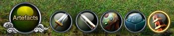 Battle artefacts