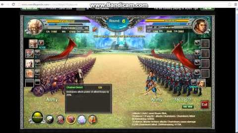 War of Legends SP 10 Fight with Normal Troops