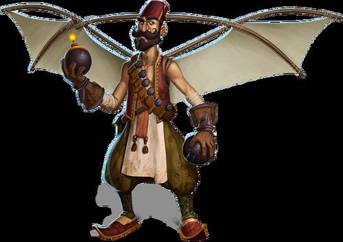 War of Mercenaries flying ottoman final