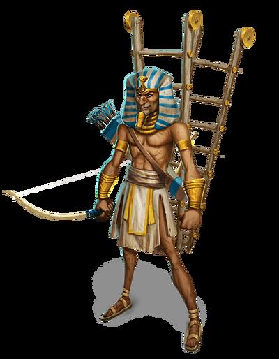 War of Mercenaries Scaling Egyptian final
