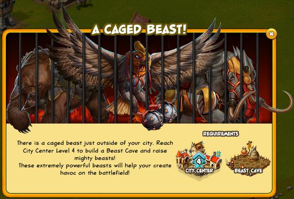 Caged beast