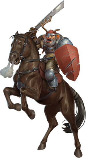 War of Mercenaries Knight On Horse Final