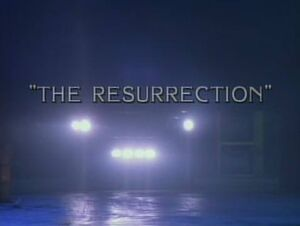 The Resurrection title card
