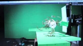 6 legged-Mechanical Alien Stop-Motion Walk test
