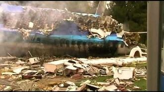 Airplane crash - War of the Worlds - Universal Studios Hollywood