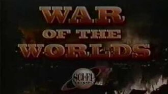 WAR OF THE WORLDS (1988-90) Sci Fi Channel Commercial Bumpers and Return Stings