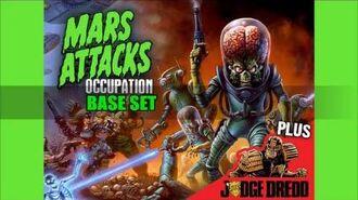 Kickstarter - Mars Attacks Occupation Invasion Begins Base Set
