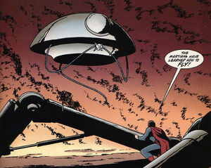 Superman encounters the Flying Machine.