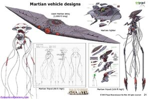 The Martian Wing and other Martian Vehicles.