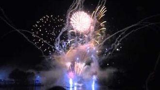 Drayton Manor Fireworks 2015 - War of the worlds