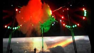 Jeff Wayne's the War of the World's The Artilleryman and the Fighting Machine- O2 Arena