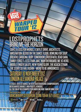 Warped Tour 2012 UK