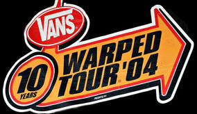 Warped Tour 2004 Logo