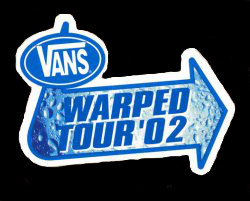 Image result for Vans Warped Tour 2002