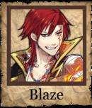 Blaze Swashbuckler Poster