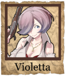 Violetta Musketeer Poster