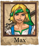 Max Musketeer Poster
