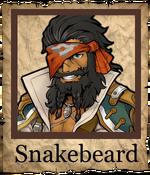 Snakebeard Musketeer Poster