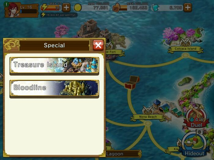 Special map quests war pirates wikia fandom powered by wikia you can access the special maps by going to your mission map and tapping on the special button on the lower left side of your interface gumiabroncs Choice Image
