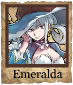 Emeralda Mage Poster