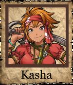 Kasha Swashbuckler Poster