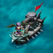 Cannon Frigate Ship