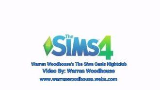 THE SIMS 4 (PS4) - Warren Woodhouse's The Siwa Oasis Nightclub