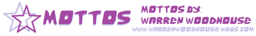 Logos-Mottos