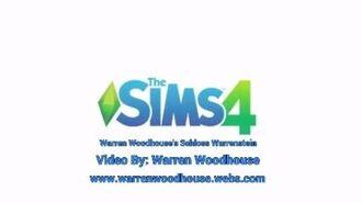 THE SIMS 4 (PS4) - Warren Woodhouse's Schloss Warrenstein
