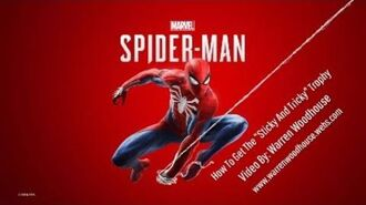 "MARVEL'S SPIDER-MAN (PS4) - ""Sticky And Tricky"" Trophy"