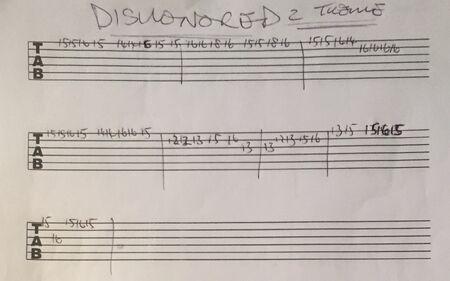 GuitarTabs ByPhilMartin Dishonored2MainTheme