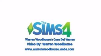 THE SIMS 4 (PS4) - Warren Woodhouse's Casa Del Warren