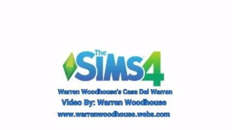 THE SIMS 4 (PS4) - Warren Woodhouse's Casa Del Warren