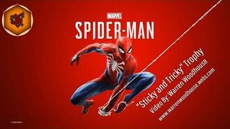 """MARVEL'S SPIDER-MAN (PS4) - """"Sticky and Tricky"""" Trophy"""