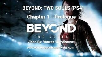 "BEYOND TWO SOULS (PS4) - Chapter 1 ""Prologue"" Walkthrough"