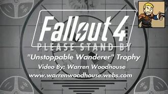"FALLOUT 4 (PS4) - ""Unstoppable Wanderer"" Trophy"