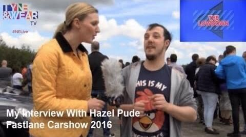 INTERVIEWS - Tyne & Wear TV - Fastlane Carshow 2016 - My Interview With Hazel Pude