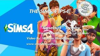 "THE SIMS 4 (PS4) - ""Rosebud"" Trophy"