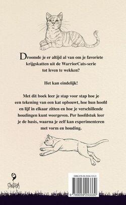Warrior Cats Schetsboek achteromslag