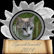 Bladvalwedstrijd2014SpechtvachtMedaille