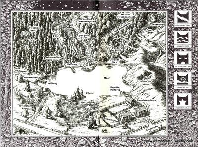 Kaart van het Meer