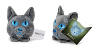 Bluestar Mini-Head Plush