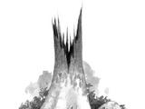 Große tote Esche