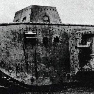 25 июня 1918 года первые ходовые испытания.