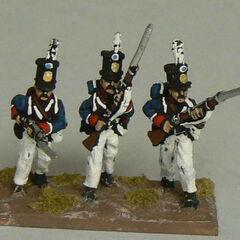 Фузилеры 11-го пехотного батальона.