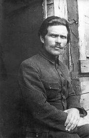 1921. Нестор Махно в лагере для перемещенных лиц в Румынии