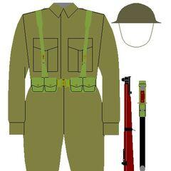 Солдат люксембургской армии, 1947 год.